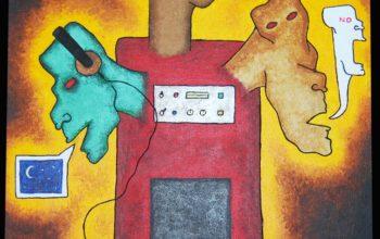 Une oeuvre d'art pour lancé la 7ième Édition du Show de la Bouffée !!